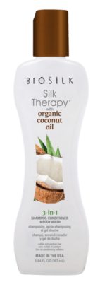 BS Silk Therapy Coconut 3in1 s kokosovým olejom, 355ml